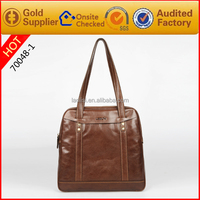 Vintage style design your own leather handbag italian leather handbag manufacturers