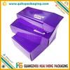 wholesale cheap custom waxed display cardboard shoe boxes