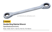 Y02050 Double ring ratchet wrench