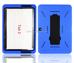 """Heavy duty rugged sturdy and durable strong kickstand hard Case for Samsung Galaxy Tab 2 10.1"""""""