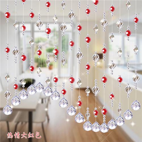 D coration int rieure rideaux de perles de cristal pour portes rideau id de produit 60337490861 - Rideaux de perles pour portes ...