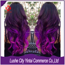Top Quality Double Drawn Human Remy Hair Weft Extension Make You an Amazing Change!