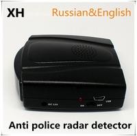 Hot sale electronics 360 degree mini Anti police radar gun device Detector for Car Speed Limited voice Warner 2014