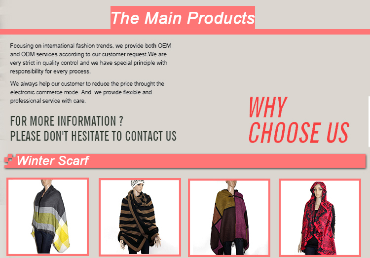Hot Selling wholesale fashion comfortable simple plaid pattern lady scarf