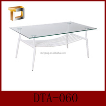 DTA-060 Economic touch screen temepred glass coffee table