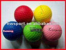 pu foam golf anti stress ball