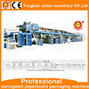 China supplier corrugated carton box making machine, 3/5/7 ply corrugated paperboard making machine