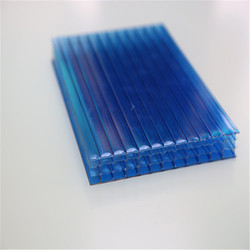 Four Layer cheap roofing materials,lightweight roofing materials,multiwall polycarbonate sheet