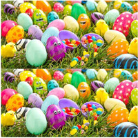 Easter Festival Decorative Colorful Plastic Easter Egg for sale with high quality