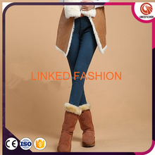 High Quality Solid Fleece Leggings for Regular and Plus Size