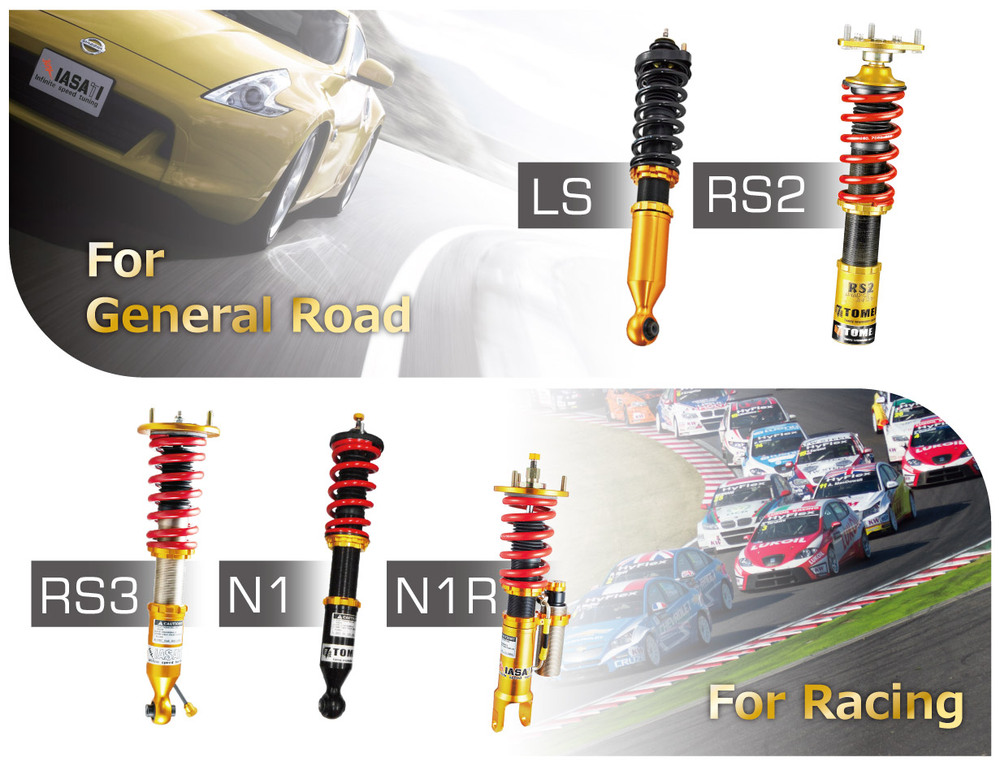 RS2 suspension kit for option car