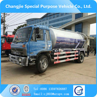 High quality dongfeng 10-12m3 sewage truck for sale,sewage suction tanker truck