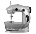 Del punto de cadeneta doméstica de escritorio mini máquina de coser con motor eléctrico mini fhsm- 201