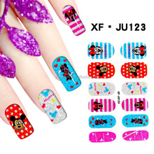 Wholesale nail stickers pretty lovely 3d nail art for nail docoration
