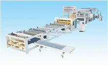 High speed automatic 3 color carton printing machine packing line/machinery/equipments