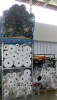 """Knitted Cotton Fabric Stocklot """"Made In Germany"""""""
