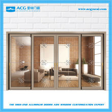 Best selling surface treatment for woden glass sliding door