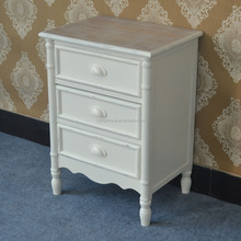 Shabby Chic Mirror Bedside Table Nightstands