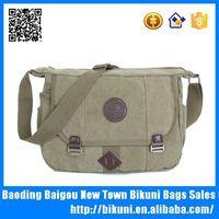 Design fashion retro shoulder bag men canvas vintage Japan messenger bag supplier