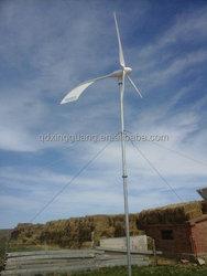 best quality small hawt, 2kw wind turbine of rotating tail design