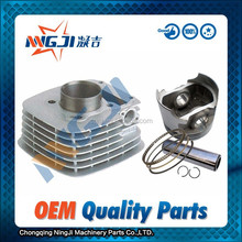 53.5mm diameter Motorcycle Cylinder kit for Qingqi Suzuki GT125 High Quality Motorcycle Engine Parts Engine Piston set
