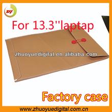 leather laptop case,envelope leather laptop case,laptop bag