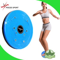 exercise waist slimming shaper twist board twister plate for crossfit