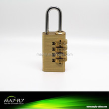 High-grade brass combination lock,combination padlock,digital lock,T124