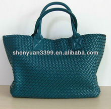 Ladies Genuine Leather hot selling china manufacturer famous brand leather handbags with high quality
