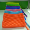 New Arrival Nice Jelly Candy Handbag Rubber Silicone Cosmetic Makeup Bag Silicone Coin Purses Wallets Cellphone Bag