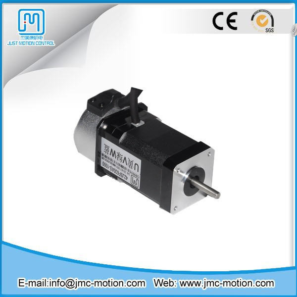 low cost brushless ac servo motor 24 volt 64w