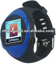 2012 High Quality SOS function GPS watch for kids/ elder people