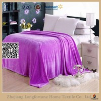 china supplier online supply wedding decoration poly fabric flannel blanket