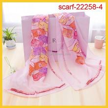 ladies decorative scarf fashionable scarf wraps