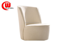 Modern hotel leisure Fabric single seater sofa chair