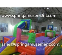 Inflatable court use football or basketball play for sale SP-CU020