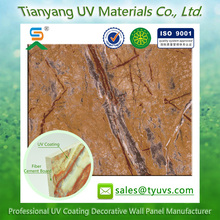 imitation marble surface fireproof fiber cement board siding