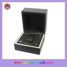 Promotional paper plastic wrist mens watch box(WH-0715-JP)