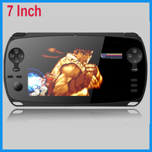 "video games 7"" touch screen,five-Point Capacitance Touch,1020x600 android 4.2 quad-core tablet game console"