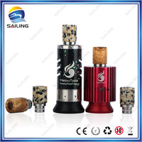e cig spare parts vaporizer dripper e pipe drip tip electronic smoking devices