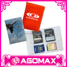 Customized printed handy plastic MS DUO card holder