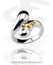2015 Chian Factory Supllier Custom Stainless Steel Jewelry Women Rings