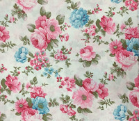 100% cotton fabric floral print fabric curtain fabric