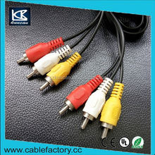 Free samples OEM/ODM welcomed audio video cable japan sex video av rca cable