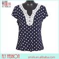 En línea f91# boutiques de señora tops y blusas de punto con ropa de cuentas para las mujeres