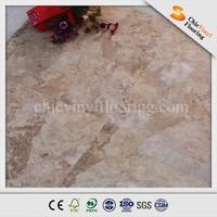 marble pvc sponge flooring heat resistant vinyl flooring