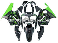 For 00-01 Kawasaki ZX12R ZX-12R 2000-2001 ABS Plastic Fairing Body Work kit