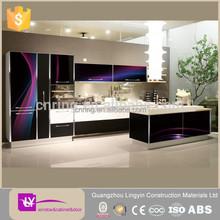 2014 new modern 3D design Modern kitchen cabinets china factory hot sale