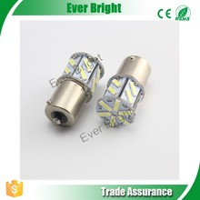 New product high quality S25 7014 18SMD 18 LED super bright white car auto turn brake light