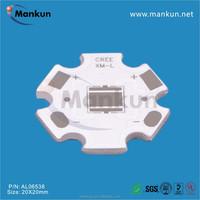 guangzhou electronic factory XML 5050 PCB for torch light 20mm PCB board
